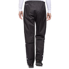 VAUDE Fluid Full-Zip Pants Women Short black